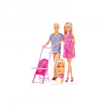 Кукла Simba Штеффи Счастливая Семья с аксессуарами Фото