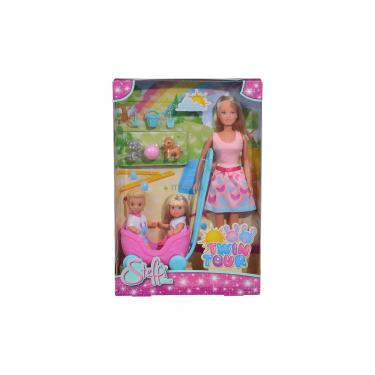 Кукла Simba Эви и Тимми Прогулка двойняшек с воспитанниками и Фото 1