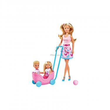 Кукла Simba Эви и Тимми Прогулка двойняшек с воспитанниками и Фото