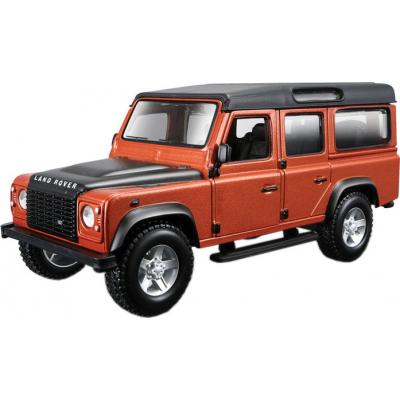 bburago Land Rover Defender 110 (коричневый металлик, 1:32 18-45127
