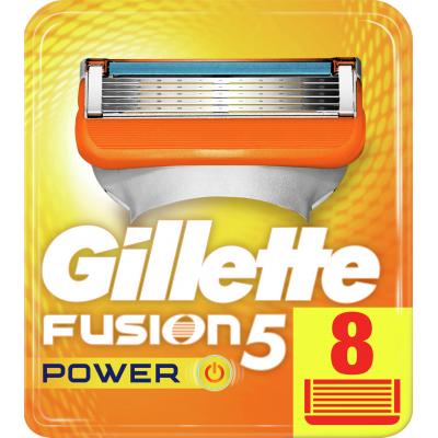 Сменные кассеты Gillette Fusion Power 8 шт (7702018877621)