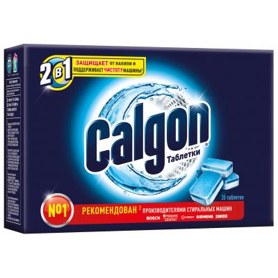 Смягчитель воды Calgon 2 in 1 35 шт (4607109404010)