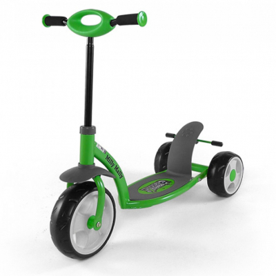 Скутер Milly Mally Crazy Scooter Green (14252)