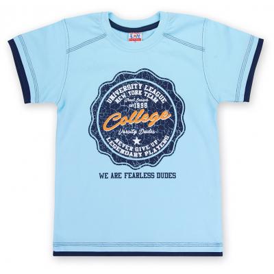 """Футболка детская E&H """"College"""" (4678-116B-blue)"""