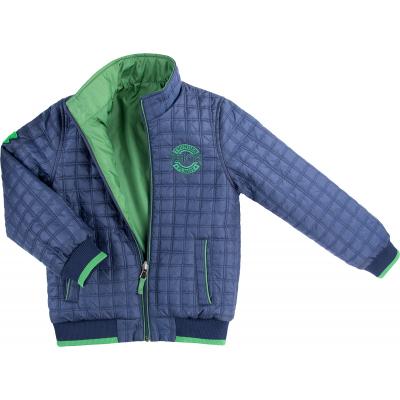Куртка Verscon двухсторонняя синяя и зеленая (3278-128B-blue-green)