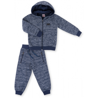 Спортивный костюм Breeze на молнии меланжевый (9486-86B-indigo)